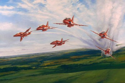 Red Arrows by Robert Taylor.