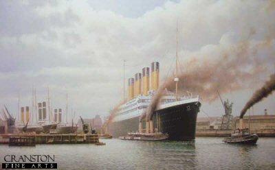 R.M.S. Titanic by Rodney Charman.