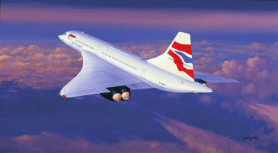 Farewell Concorde by Philip West.