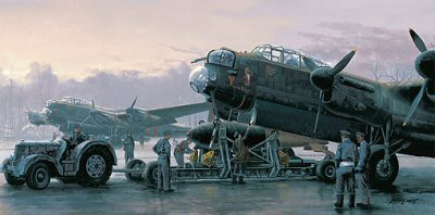 Preparing for the Tirpitz by Philip West.