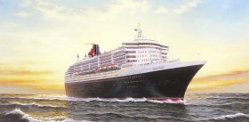 The Queen Mary 2 by Rodney Charman.