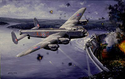 Eye of the Storm - The Dambusters by Philip West.