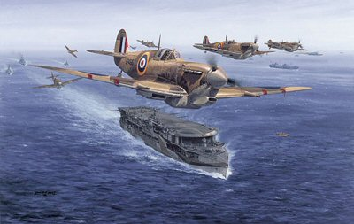 Spitfires - Malta Bound by Philip West.