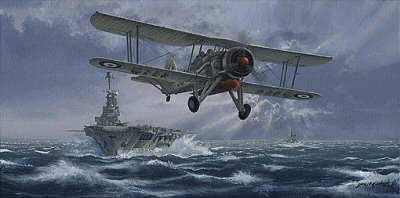Flight Against the Bismarck by Philip West.