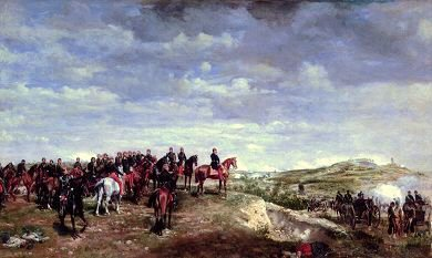 Napoleon III at Solferino by Jean Louis Ernest Meissonier.