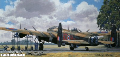 Lancaster - The Heavy Brigade by Keith Woodcock.