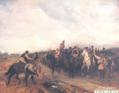 Cromwell at Dunbar by Andrew Carrick Gow.