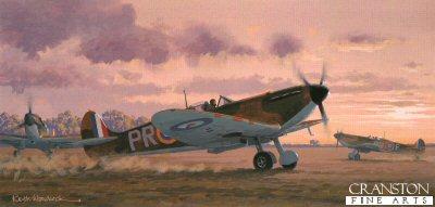 Supermarine Spitfire Mk 1a by Keith Woodcock.