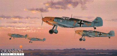 Messerschmitt BF109E-3 by Keith Woodcock.