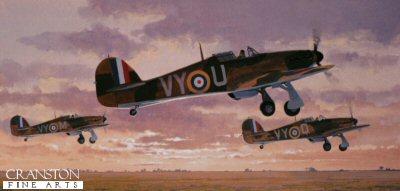 Hawker Hurricane MkI by Keith Woodcock.