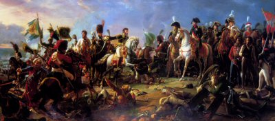 The Battle of Austerlitz by baron Pascal Gerard (B)