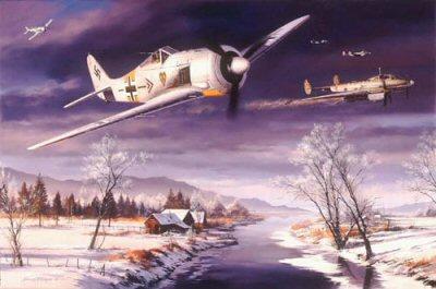 Winter Combat by Nicolas Trudgian.
