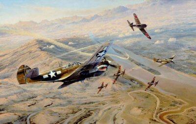 Fighting Tigers by Robert Taylor.