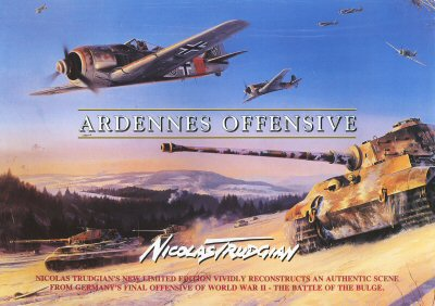 Ardennes Offensive by Nicolas Trudgian. (FLY)