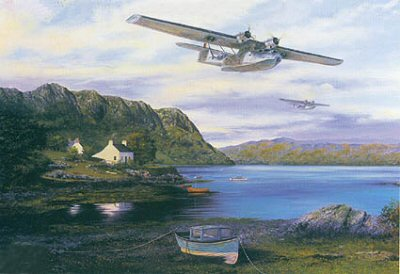 Heading for the Convoys by Stephen Brown.