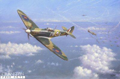 Spitfire Tally-Ho by Geoff Lea.