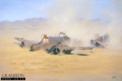 DHM265AP. Desert Prang by Geoff Lea. <b><p> Limited edition of 20 artist proofs. <p> Image size 16 inches x 10 inches (41cm x 25cm)