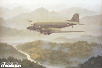 Dakota Over Burma by Geoff Lea.