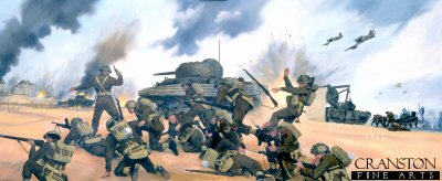 D-Day Gold Beach, 6th June 1944 by Simon Smith.