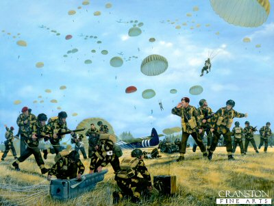 Arnhem Drop 17th September 1944 by Simon Smith (P)