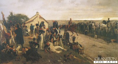 Morning of Waterloo by Ernest Crofts. (Y)
