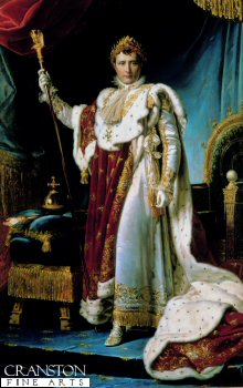Napoleon in his Coronation Robes by Francois Gerard (B)