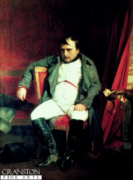 Napoleon After his Abdication 1814 by H Delaroche.