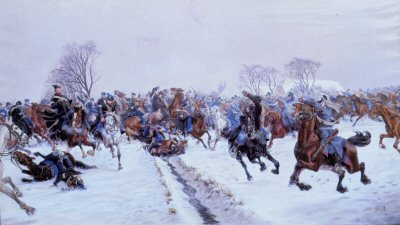 The Battle of Vonbasse by Carl F.C. Hansen Reistrup.