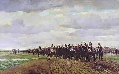 Austerlitz Before the Charge by Jean Louis Ernest Meissonier.