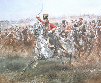 Viva L Empereur after Edouard Detaille. (Y)