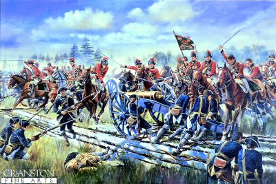 The Charge of the 15th Light Dragoons at Emsdorf by David Rowlands.