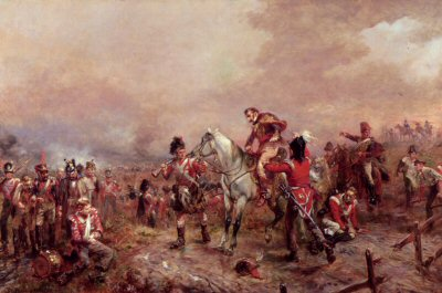 Incident at Waterloo by Robert Hillingford.