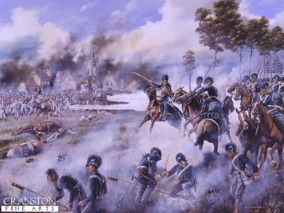 The Rocket Brigade at the Battle of Leipzig, 16th-18th October 1813 by David Rowlands (GL)