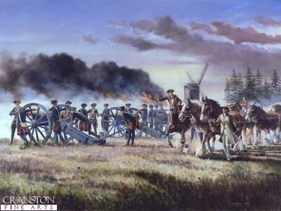 The Battle of Minden, 1st August 1759 by David Rowlands. (GL)