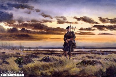The Lone Piper by David Rowlands (GS)