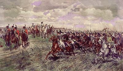 Friedland, 1807 by Jean Louis Ernest Meissonier.