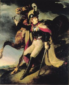 The Wounded Cuirassier by Theodore Gericault. (Y)