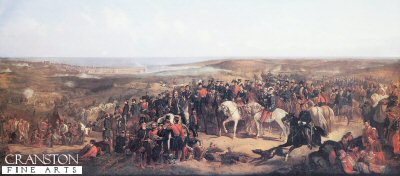 Allied Generals Before Sebastopol by Thomas Jones Barker.