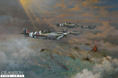 Normandy Beach Head Patrol by Geoff Lea. (C)