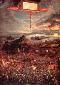 Battle of Issus by Albrecht Altdorfer (B)