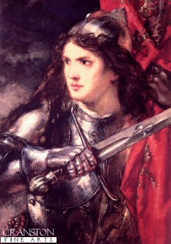 Joan of Arc by Sir John Gilbert.