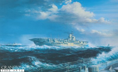 HMS Ark Royal by Brian Wood. (Y)