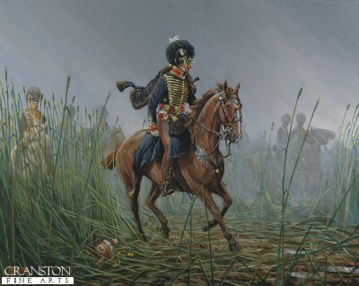 Officer, RHA, Belgium 1815 by Mark Churms.
