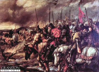 Morning of Agincourt by Sir John Gilbert (B)