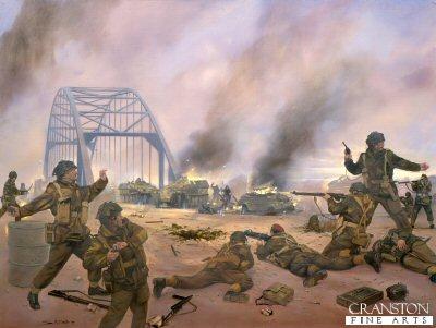 Arnhem Bridge by Simon Smith.