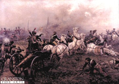 The Capture of A French Battery by Ernest Crofts. (Y)