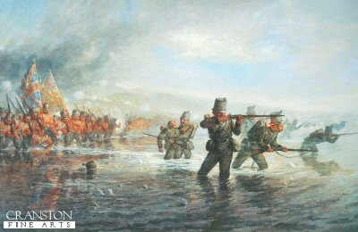 Fording the Alma by Lewis H. Johns (GL)