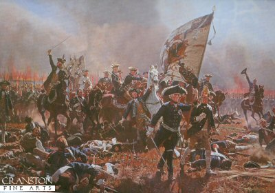 Frederick the Great in the Battle of Zorndorf by Carl Rochling. (Y)