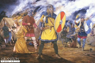 A Viking Raid by Brian Palmer.