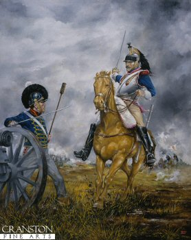 French Cuirassier at Waterloo by Brian Palmer. (GS)